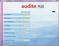 audite PLUS Menü