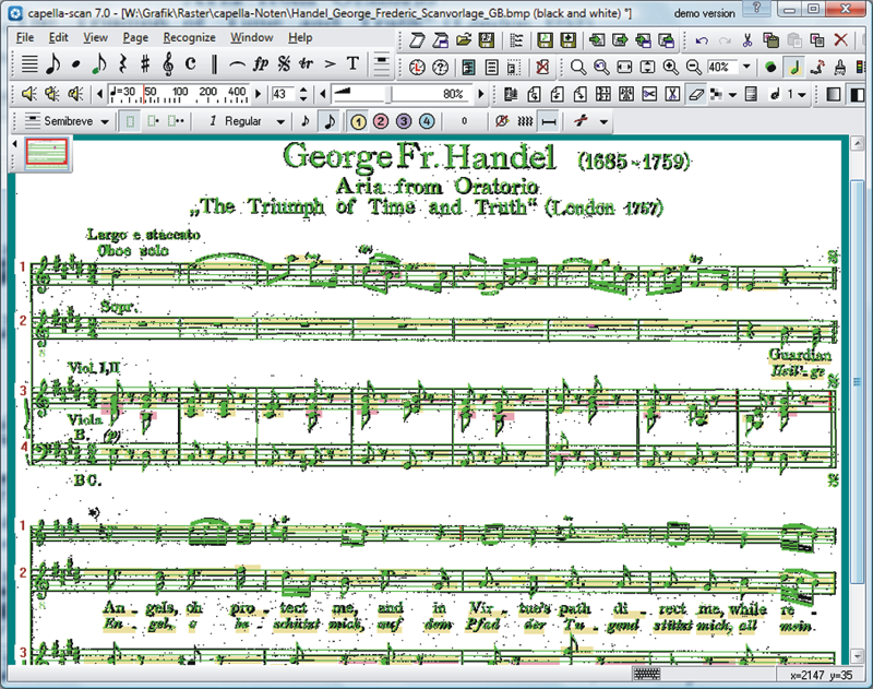 Scan sheet music with capella-scan - capella-software AG