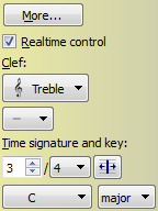 Note display settings